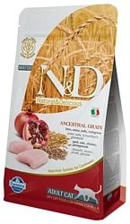 Farmina N&D Low-Grain Feline Chicken & Pomegranate Adult (10 кг)