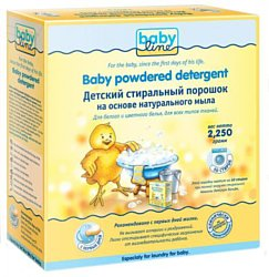Babyline Детский стиральный порошок на основе натурального мыла 2.25кг