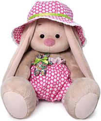 Зайка Ми в шляпе и с мишкой 23 см SidM-381