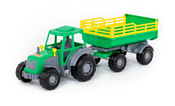 Полесье Мастер трактор с прицепом №2 35271