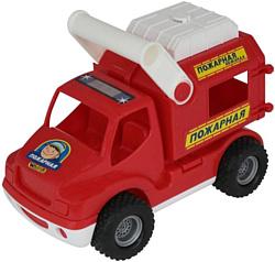 Полесье КонсТрак - пожарная команда автомобиль 0506