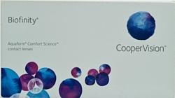 CooperVision Biofinity -2.5 дптр 8.6 mm