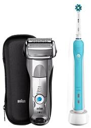 Braun 7893s Series 7 + OralB PRO500