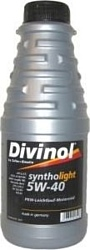 Divinol Syntholight 5W-40 1л
