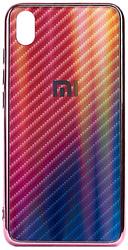 EXPERTS Aurora Glass для Xiaomi Redmi 7 с LOGO (розовый)
