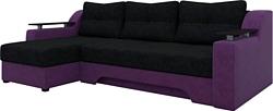 Mebelico Сенатор (черный/фиолетовый) (A-57949)