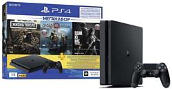 Sony PlayStation 4 Slim 1TB + DG/GOW/TLOU