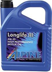 Alpine Longlife III 5W-30 5л