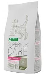 Nature's Protection (1.5 кг) Superior Care Large Cat Kitten
