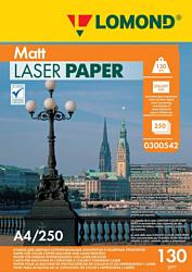 Lomond матовая двусторонняя A4 130 г/кв.м. 250 листов (0300542)
