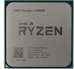 AMD Ryzen 3 1300X Summit Ridge (AM4, L3 8192Kb)
