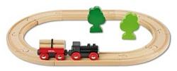 """Brio Стартовый набор """"Железная дорога с грузовым поездом"""" 33042"""