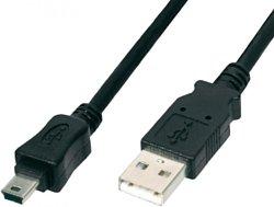 USB 2.0 тип A - mini-USB 2.0 тип B 0.6 м