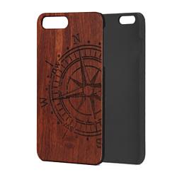 Case Wood для Apple iPhone 7/8 (палисандр, компас)