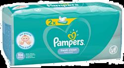 Pampers Fresh Clean (2x52шт)