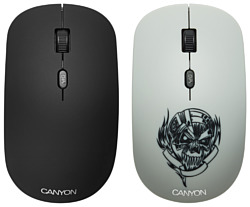 Canyon CND-CMSW401MC Metallica White USB