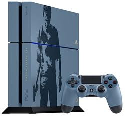 Sony PlayStation 4 1 ТБ Uncharted 4: Путь вора