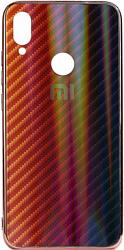 EXPERTS Aurora Glass для Xiaomi Redmi Note 7 с LOGO (красно-черный)