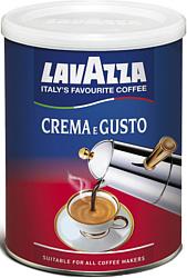 Lavazza Crema e Gusto молотый в банке 250 г
