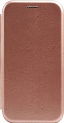 EXPERTS WINSHELL BOOK CASE для Huawei P30 Lite (розово-золотой)