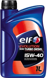 Elf EVOLUTION 500 TURBO DIESEL 15W-40 1л