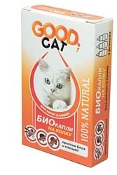 Good Dog БИО капли для Котят и Кошек от блох и клещей 1мл