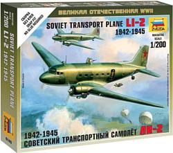 """Звезда Советский транспортный самолет """"Ли-2"""""""