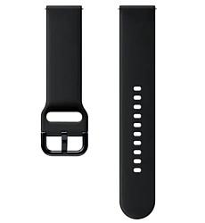 Samsung спортивный для Galaxy Watch Active2/Watch 42mm (аква черный)