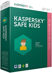Kaspersky Safe Kids (1 аккаунт, 1 год, ключ)