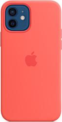 Apple MagSafe Silicone Case для iPhone 12/12 Pro (розовый цитрус)