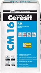 Ceresit CM 16. Эластичный клeй для плитки «Flex»