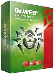 Dr.Web Security Space (2 ПК, 1 год) электронная лицензия