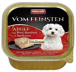 Animonda (0.15 кг) 22 шт. Vom Feinsten Adult Меню для привередливых собак с говядиной, бананом и абрикосами