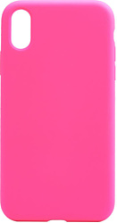 EXPERTS SOFT-TOUCH case для iPhone X / XS (розовый)