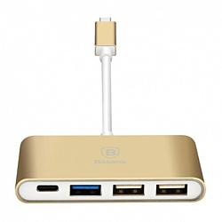 USB 3.1 hub 3 порта + USB Type-C