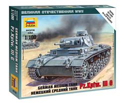 """Звезда Немецкий средний танк """"Pz.Kp.fw.III G"""""""