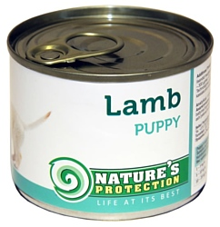 Nature's Protection Консервы Puppy Veal (0.2 кг) 1 шт.
