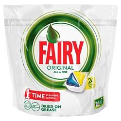 "Fairy Original Lemon ""All in 1"" (24 tabs"