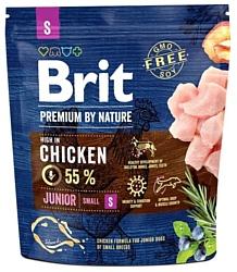 Brit (1 кг) Premium by Nature Junior S