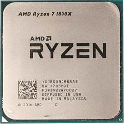 AMD Ryzen 7 1800X Summit Ridge (AM4, L3 16384Kb)
