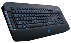Tt eSPORTS by Thermaltake Membrane Gaming keyboard CHALLENGER GO Black USB
