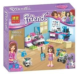 BELA Friends 10602 Творческая лаборатория Оливии