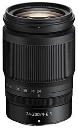 Nikon 24-200mm f/4-6.3 VR Nikkor Z