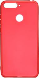 EXPERTS TPU Case №3 для Huawei Y6 Prime (2018)/Honor 7C/7A Pro (красный)