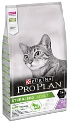 Purina Pro Plan (1.5 кг) Sterilised feline rich in Turkey dry