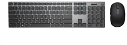 DELL KM717 Wireless Keyboard and Mouse Grey-Black USB