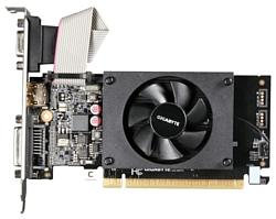 GIGABYTE GeForce GT 710 954Mhz PCI-E 2.0 1024Mb 1600Mhz 64 bit DVI HDMI HDCP