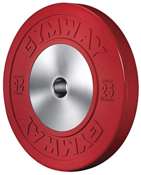 Gym Way Olympic Bumper Plate 25 кг