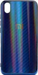 EXPERTS Aurora Glass для Xiaomi Redmi 7A с LOGO (синий)