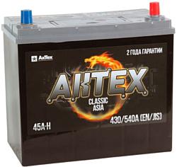 АкТех Classic Asia 6СТ-45LЗ/55B24L (45Ah)